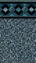 Berkeley - Grey Mosaic Print<br> Available in: 28 Mil Wall / 28 Mil Floor