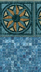 Lincroft - Mosaic Print<br> Available in: 28  Mil Wall / 28 Mil Floor