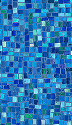 Point Pleasant - All Mosaic Print<br> Available in: 28  Mil Wall / 28 Mil Floor
