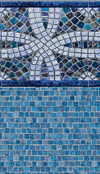 Sea Isle - Stonecrafted Mosaic Print<br> Available in: 20  Mil Wall / 20 Mil Floor
