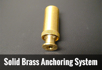 solid-brass-anchoring-system